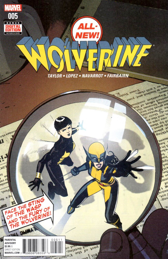 Couverture de All-New Wolverine (2016) -5- Issue 5