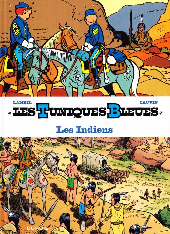 Couverture de Les tuniques Bleues présentent -4- Les Indiens