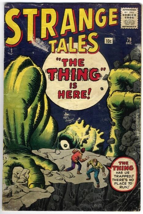 Couverture de Strange Tales (1951) -79-