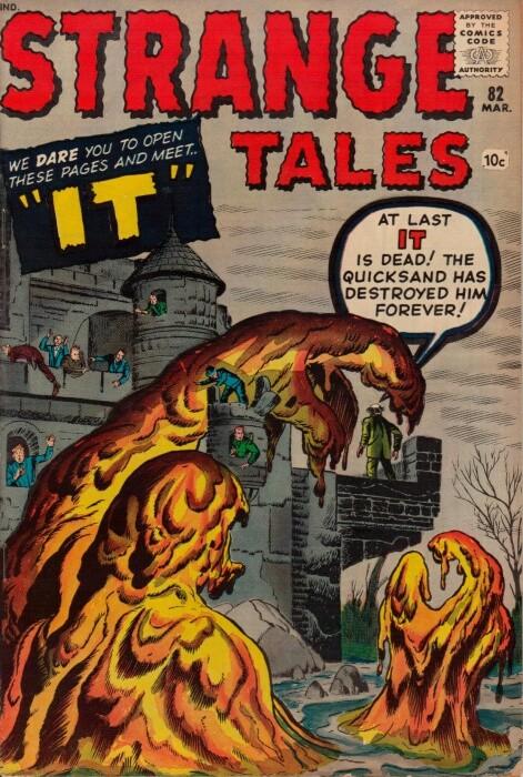 Couverture de Strange Tales (1951) -82-