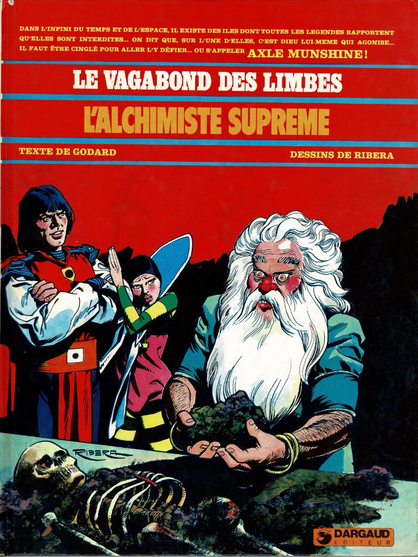 Couverture de Le vagabond des Limbes -5- L'alchimiste suprême
