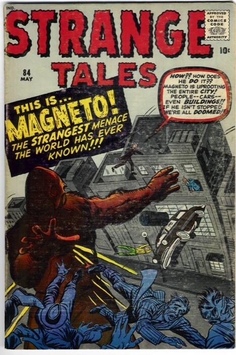 Couverture de Strange Tales (1951) -84- This is... Magneto!