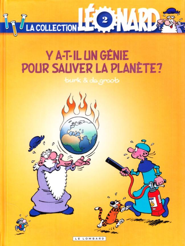 Couverture de Léonard - La Collection (Prisma Media) -238- Y a-t-il un génie pour sauver la planète ?