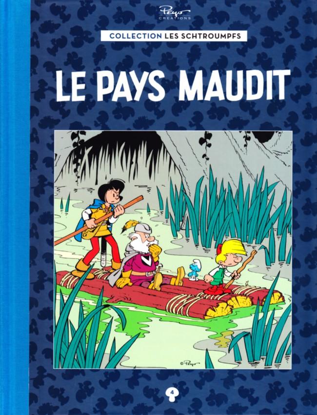 Couverture de Les schtroumpfs - La collection (Hachette) -4- Le Pays maudit