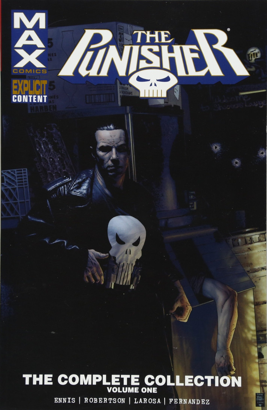 Couverture de Punisher Max: The Complete Collection (2016) -INT01- Volume One