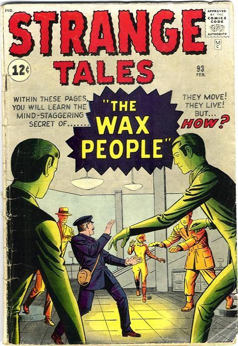 Couverture de Strange Tales (Marvel - 1951) -93- The Wax People!