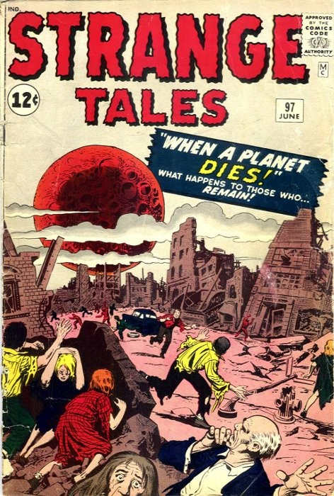 Couverture de Strange Tales (1951) -97- When a Planet Dies!