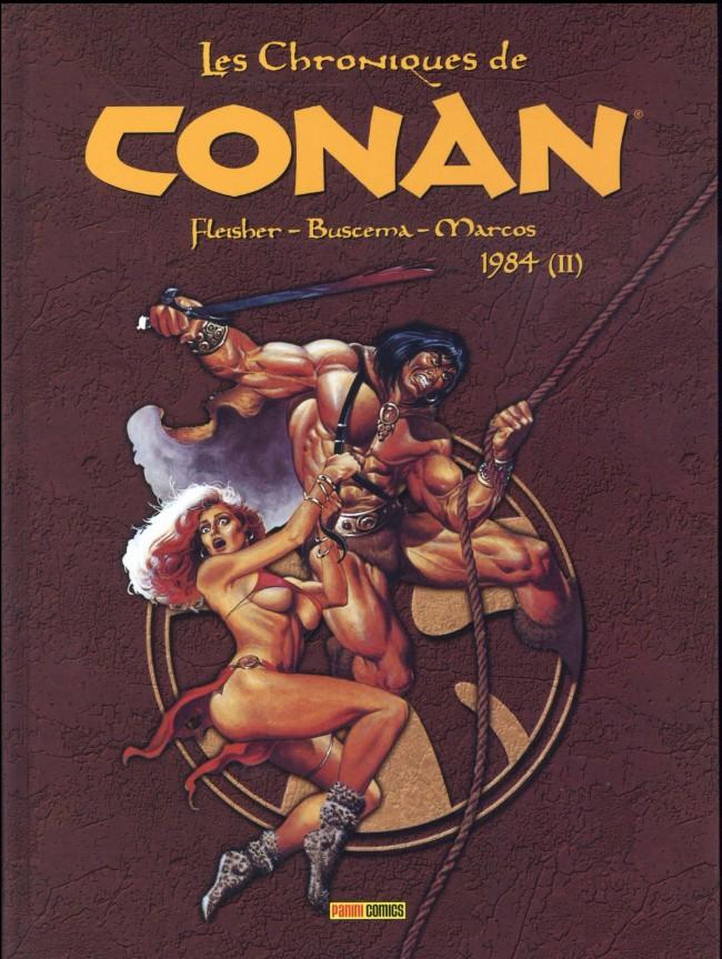 Couverture de Les chroniques de Conan -18- 1984 (II)