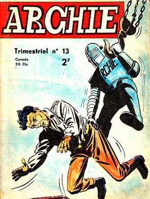 Couverture de Archie (Jeunesse et Vacances) -13- Un duel entre géants