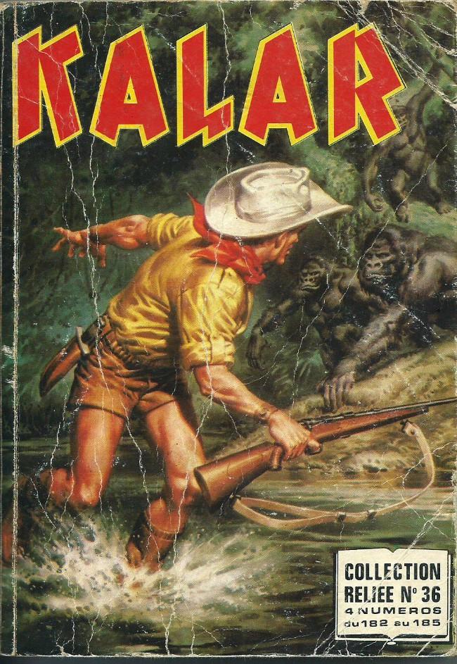 Couverture de Kalar -REC36- Collection reliée N°36 (du n°182 au n°185)