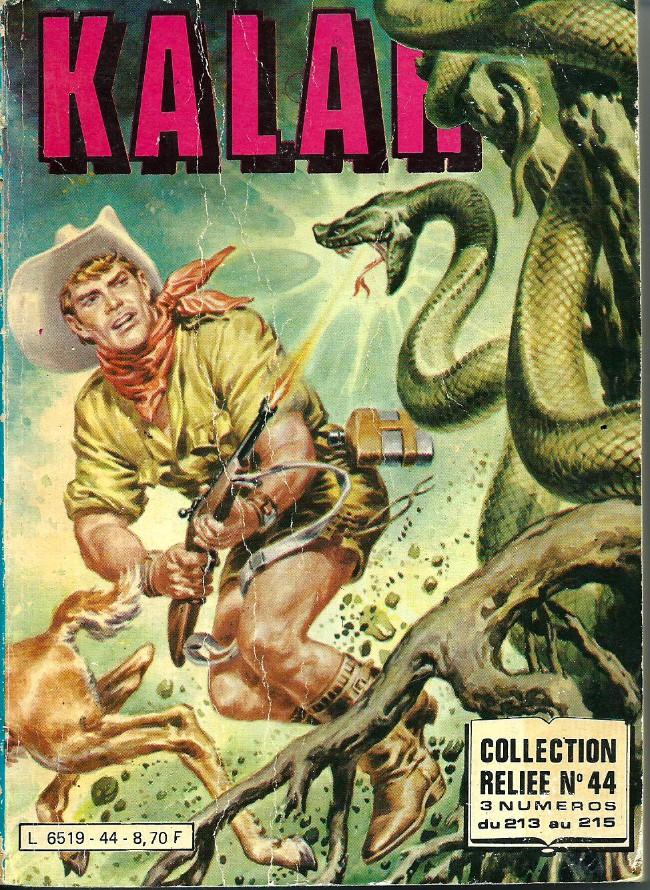 Couverture de Kalar -Rec44- Collection Reliée N°44 (du n°213 au n°215)