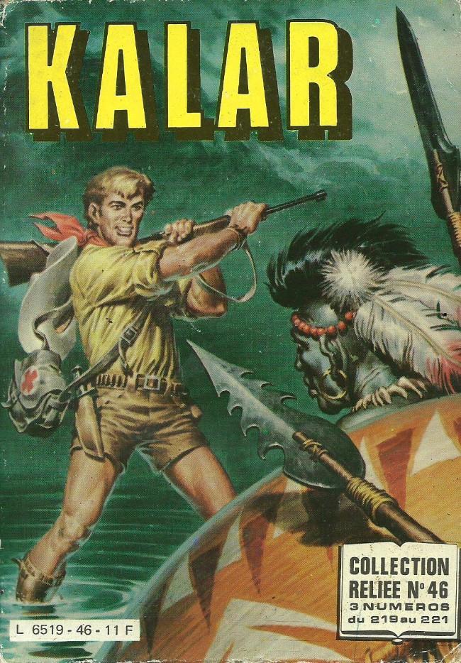 Couverture de Kalar -REC46- Collection reliée N°46 (du n°219 au n°221)