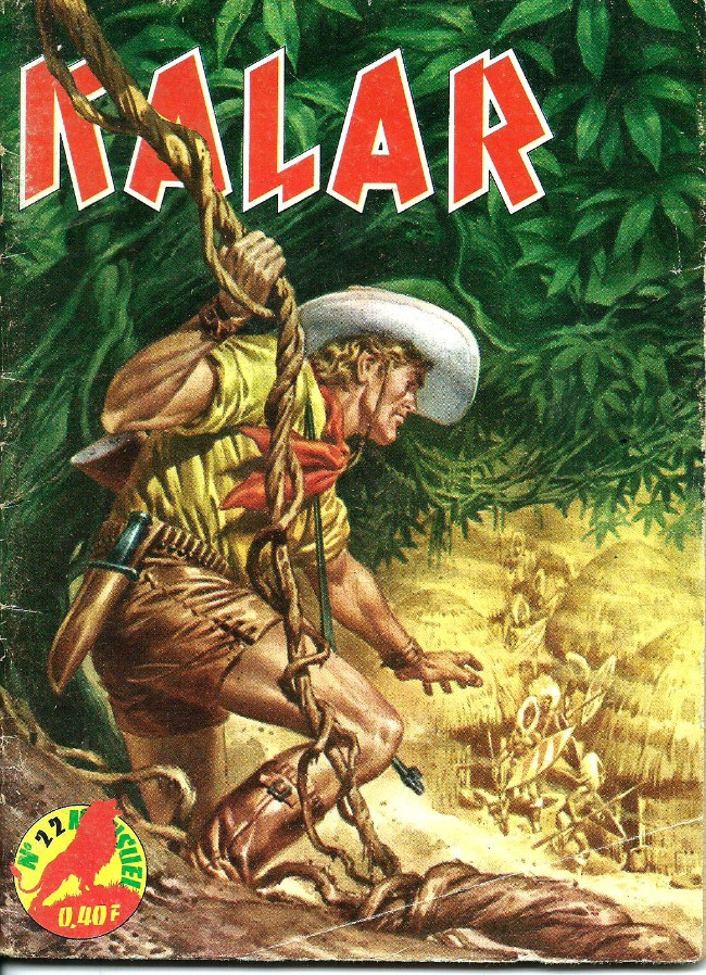 Couverture de Kalar -22- Le gorille rouge