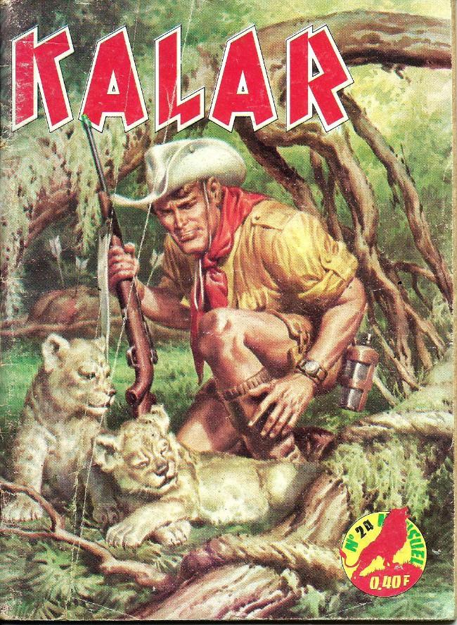 Couverture de Kalar -24- L'esprit du tonnerre