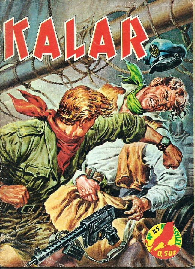 Couverture de Kalar -45- Les audacieux