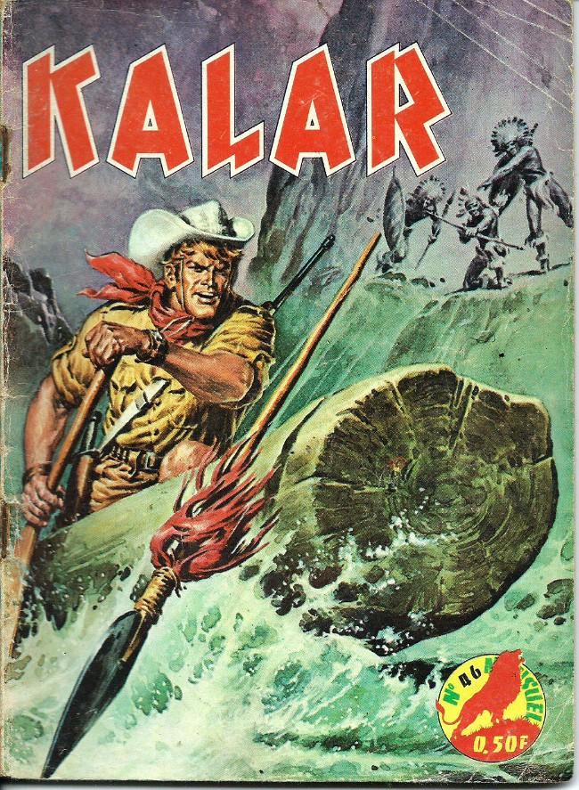 Couverture de Kalar -46- Les eaux noires