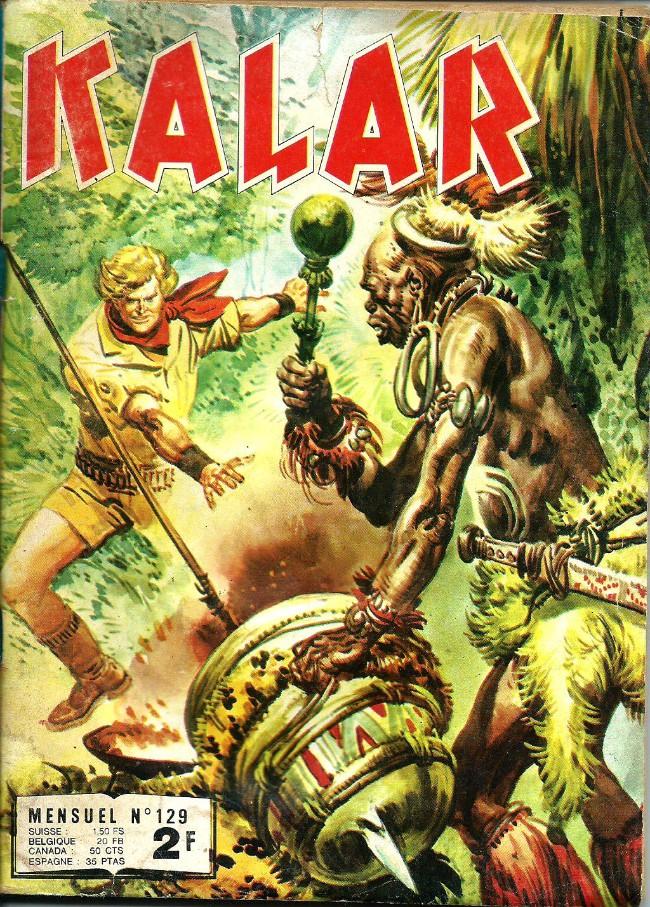 Couverture de Kalar -129- Les singes sacrés