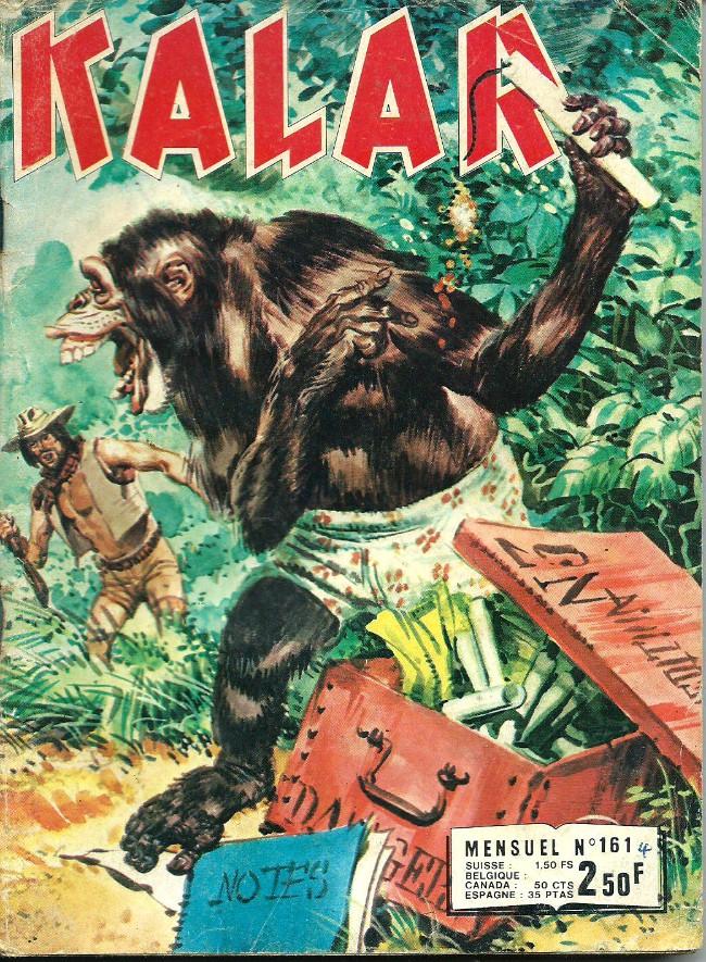 Couverture de Kalar -161- Film sauvage