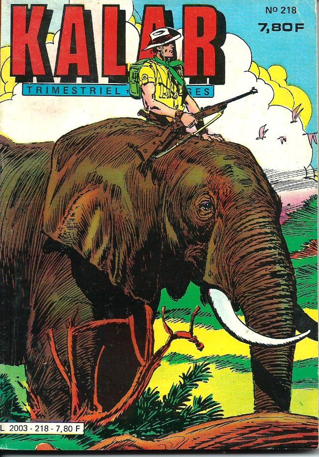 Couverture de Kalar -218- Jatko l'éléphant sauvage