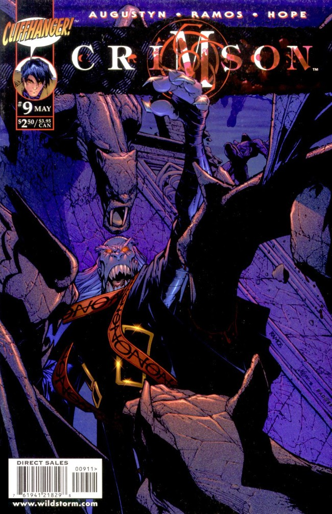 Couverture de Crimson (1998) -9- Raptus