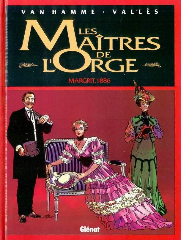 Couverture de Les maîtres de l'Orge -2- Margrit, 1886