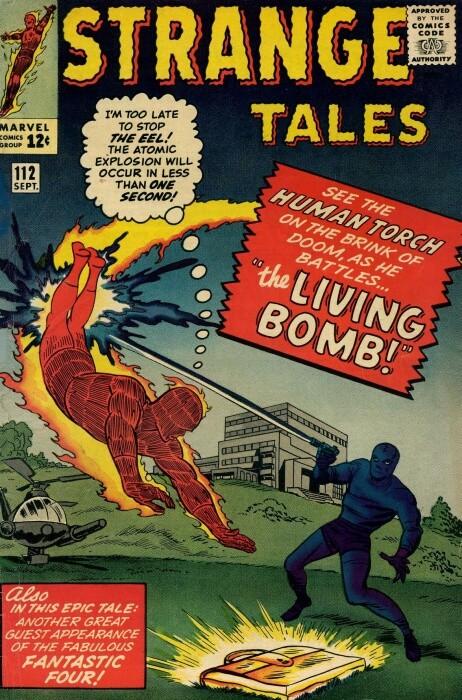 Couverture de Strange Tales (1951) -112- The Living Bomb!