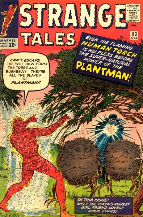 Couverture de Strange Tales (Marvel - 1951) -113- The Coming of the Plantman!