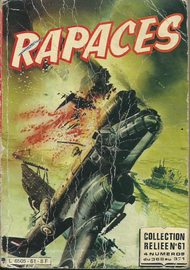 Couverture de Rapaces (Impéria) -Rec61- Collection reliée N°61 (du n°368 au n°371)