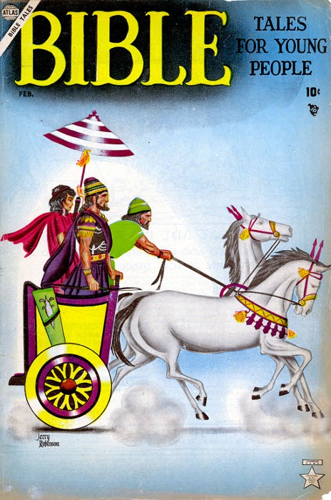 Couverture de Bible Tales for Young Folk (1953) -4- Numéro 4
