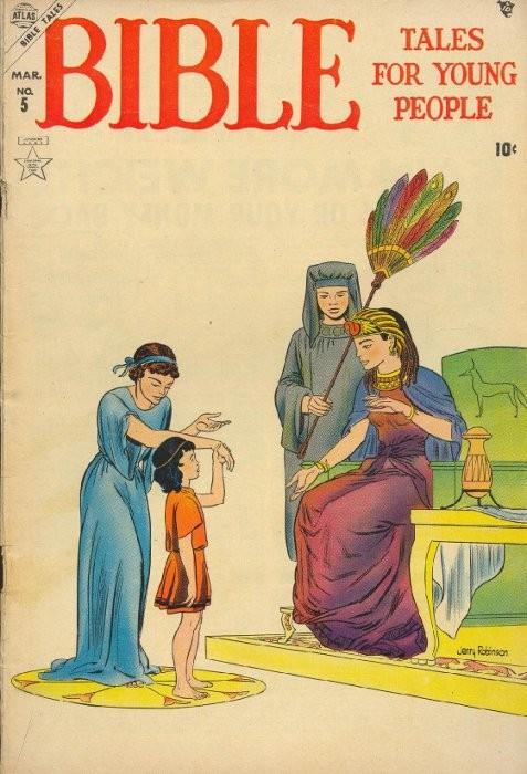 Couverture de Bible Tales for Young Folk (1953) -5- Numéro 5