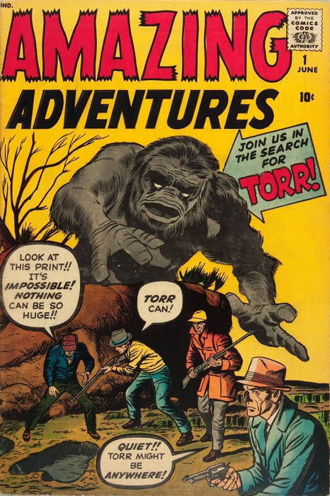 Couverture de Amazing Adventures Vol.1 (Atlas - 1961) -1- Torr!