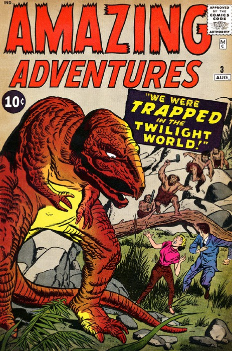 Couverture de Amazing Adventures Vol.1 (Atlas - 1961) -3- We Were Trapped in the Twilight World!