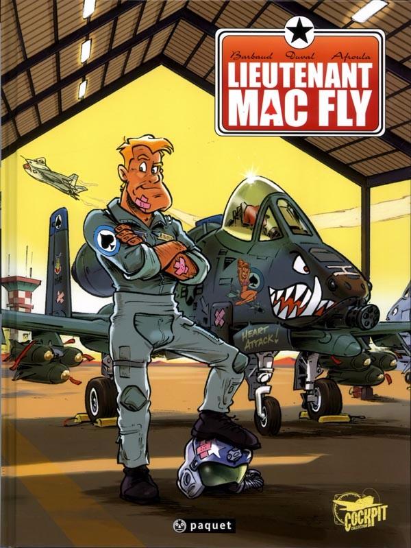 Couverture de Lieutenant Mac Fly -INT- Intégrale