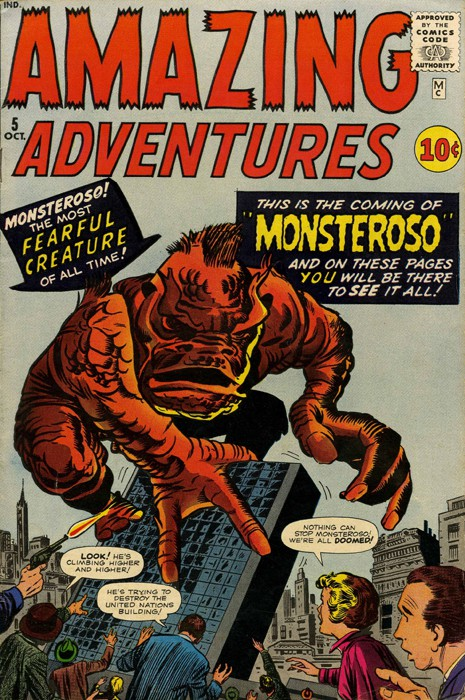 Couverture de Amazing Adventures Vol.1 (Atlas - 1961) -5- This is the coming of