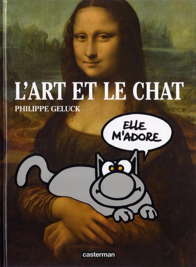 Couverture de Le chat -Cat- L'Art et le Chat