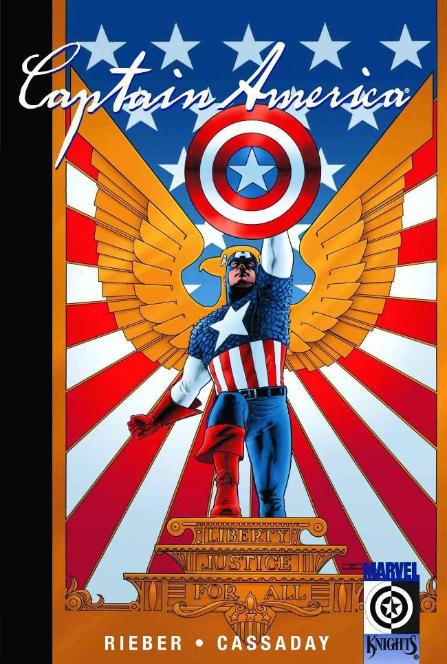 Couverture de Captain America (2002) -INT1- The New Deal