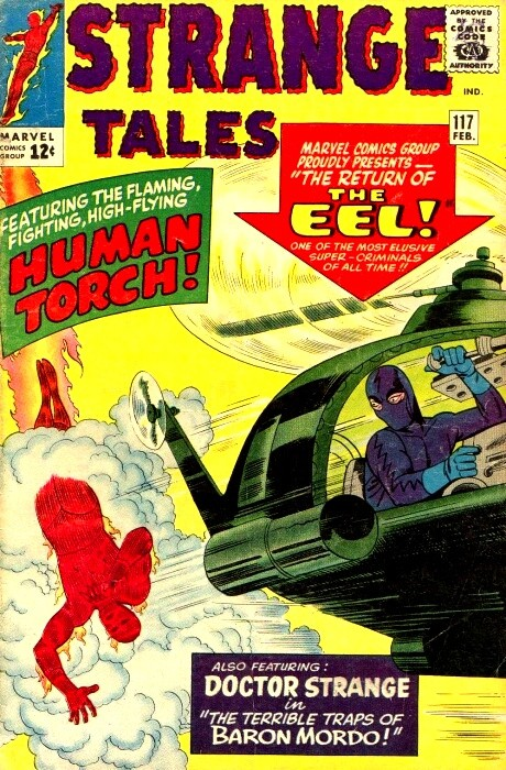 Couverture de Strange Tales (1951) -117- The Return of the Eel!
