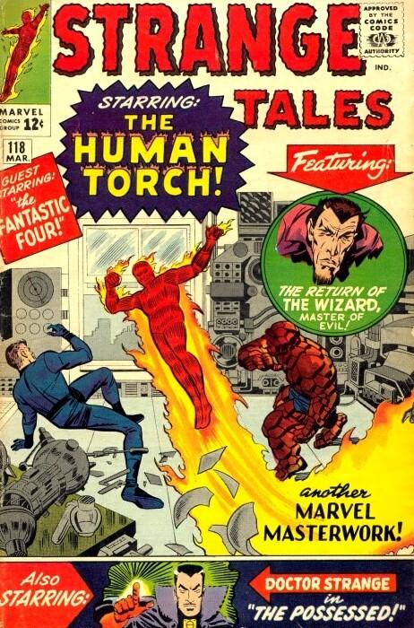 Couverture de Strange Tales (Marvel - 1951) -118- Numéro 118