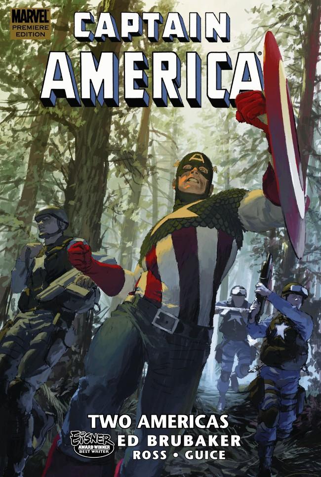 Couverture de Captain America (Marvel comics - 1968) -INT11- Two Americas