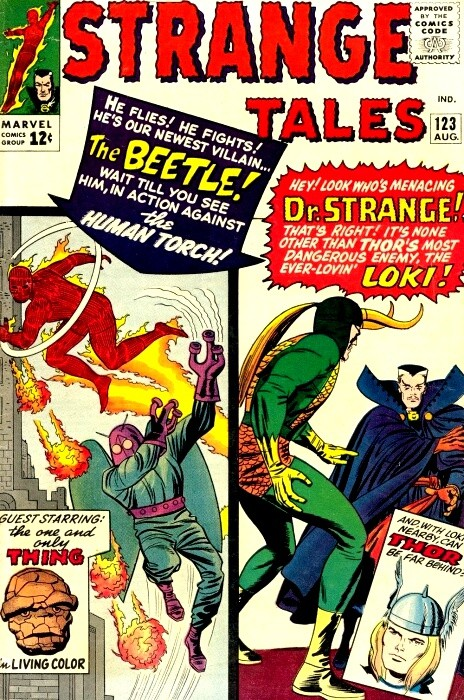 Couverture de Strange Tales (1951) -123- The Beetle!