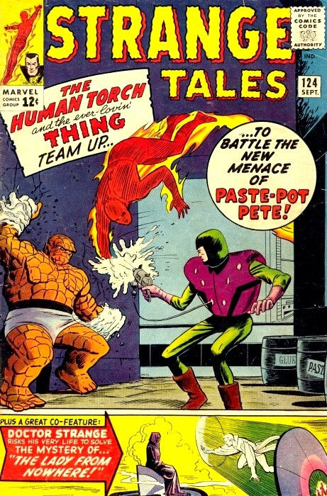 Couverture de Strange Tales (Marvel - 1951) -124- Paste-Pot-Pete