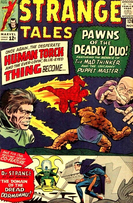 Couverture de Strange Tales (Marvel - 1951) -126- Pawns of the Deadly Duo!