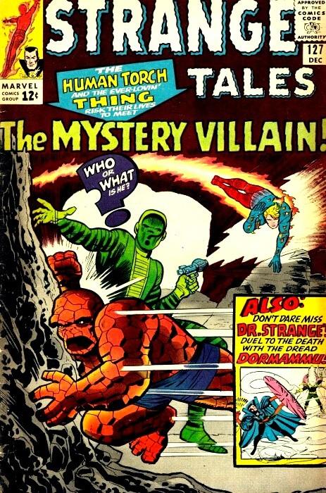 Couverture de Strange Tales (Marvel - 1951) -127- The Mystery Villain!