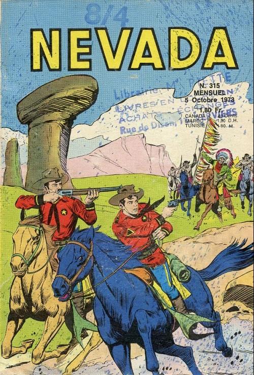 Couverture de Nevada (LUG) -315- Numéro 315