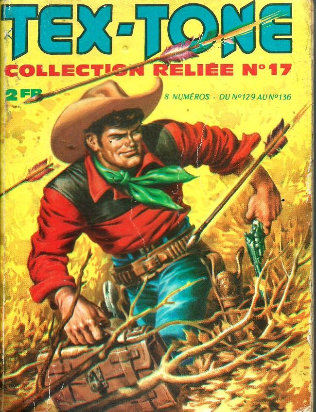Couverture de Tex-Tone -Rec17- Collection reliée N°17 (du n°129 au n°136)