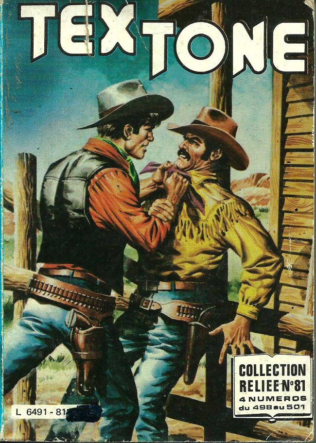 Couverture de Tex-Tone -Rec81- Collection reliée N°81 (du n°498 au n°501)