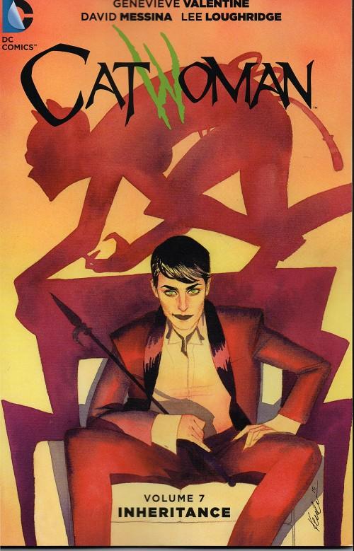 Couverture de Catwoman (2011) -INT07- Inheritance
