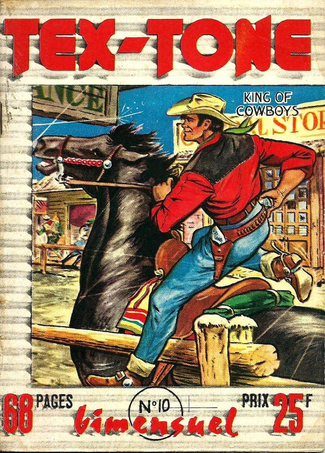 Couverture de Tex-Tone -10- Le complot du hold up