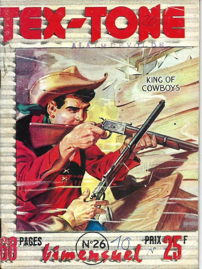 Couverture de Tex-Tone -26- le député escroc