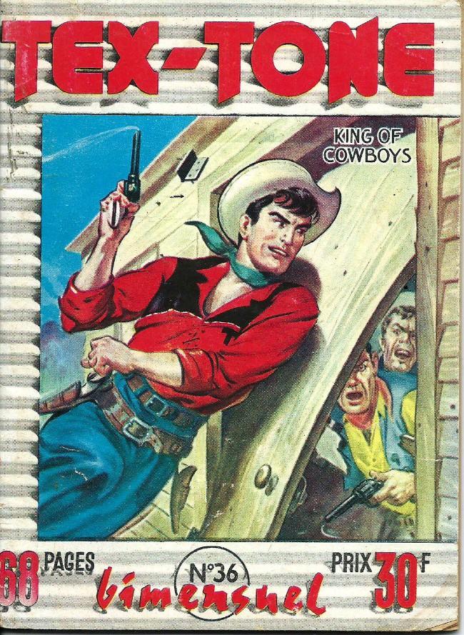 Couverture de Tex-Tone -36- Le revenant